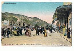 MONACO - Monte Carlo, Le Casino Et Le Café De Paris - 822 - Bars & Restaurants