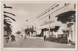 Post Card Sousse (Tunisie) Le Cinéma Théâtre Le Palace Avenue Du 2 Avril 1943  2 Voitures Anciennes  Ed CAP - Tunisia