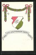 AK Regensburg, Absolvia, Mädchen-Realgymnasium 1916 - Unclassified