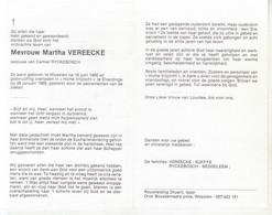 Martha Vereecke (1900-1989) - Devotion Images