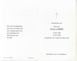 Clara Lebbe (1928-1995) - Devotion Images