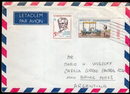 Tchécoslovaquie - 1989 - Lettre - Par Avion - Cachet Spécial - Envoyé En Argentina - A1RR2 - Cartas