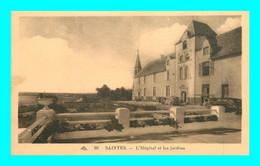 A903 / 065 17 - SAINTES Hopital Et Jardins - Saintes
