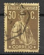 Portugal - 1917 - Tipo Ceres Novas Taxas E Cores - Afinsa - 234 - Used Stamps
