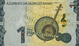 AZERBAIJAN P. NEW 1 M 2020 UNC - Azerbaïjan