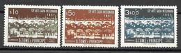 Portugal - São Tomé E Príncipe - 1953 - Exposição De Arte Missionária - Afinsa 359-361 - St. Thomas & Prince