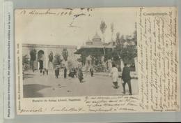 CONSTANTINOPLE - Fontaine Du Sultan Ahmed , Stamboul  Edit. Max Fruchtermann  (Mai 2021 153) - Turchia
