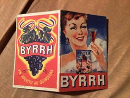 Calendrier De Poche 1954 Byrrh - Small : 1941-60