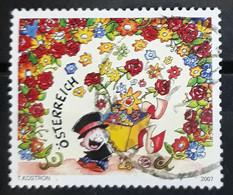 AUSTRIA 2007 Greeting Stamp - Congratulations. USADO - USED. - 2001-10 Oblitérés