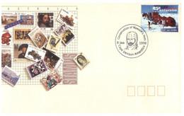 (PP 5) Australia AAT Cover - (postmarked Cape Denison Antarctica 8 Jan 1998) - FDC