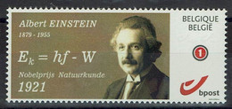 Belgien Belgie Belgium 2021 - Albert Einsteinn - Nobelpreis 1921 - MiNr 4229 - Albert Einstein