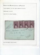 EXPRES Brief Met Frankering 4 X Nr. 302 En Afstempeling LEOPOLDSBURG / BOURG - LEOPOLD , Staat Zie Scan !  LOT 288 - Covers & Documents