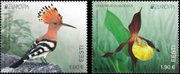 Estonia.2021.Europa CEPT.Endangered National Wildlife.2 V. ** . - 2020