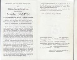 Martha Samyn (1893-1956) - Devotion Images