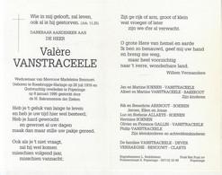Valère Vanstraceele (1916-1995) - Devotion Images