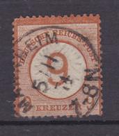 Adler Mit Großem Schild 9 Auf 9 Kr. Mit K1 MANNHEIM  5.11.74 - Unclassified