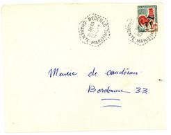 CHARENTE MARITIME ENV 1967 BEDENAC AGENCE POSTALE - 1961-....
