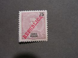 Cabo Verde - 1911 D. Carlos 25 R - Af. 94 - MH  Falz - Cape Verde