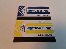 Gabon - 2 Nice Phonecard - Gabon