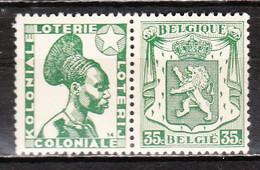PU85**  Petit Sceau De L'Etat - Koloniale Loterij - MNH** - LOOK!!!! - Advertising
