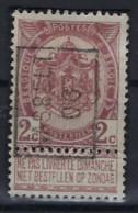 Rijkswapen Nr. 55 Voorafgestempeld Nr.  821A  HASSELT 06 ; Staat Zie Scan ! Inzet Aan 15  € ! - Rollenmarken 1900-09