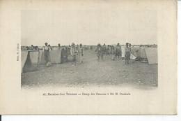 28 - EXTREME-SUD TUNISIEN - CAMP DES ZOUAVES A BIR EL OUAHNIA  ( Animées ) TUNISIE - Tunisia