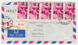 Katanga // Lettre Recommandée Pour Leopoldville - Katanga
