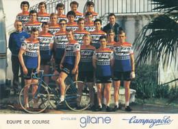 Carte - Equipe De Course Gitane Campagnolo - Cycling