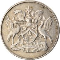 Monnaie, TRINIDAD & TOBAGO, 25 Cents, 1972, Franklin Mint, TTB, Copper-nickel - Trinidad & Tobago