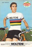 CPA - Eddy Merckx - Groupe Sportif Molteni ( Autographiée Peu Lisible ) - Cycling
