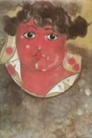 F90  / CARTE CPM Publicitaire PUB  Card Cart'com Painter Painting ART PEINTURE Sylvain FUSCO La Femme Exécutée - Paintings