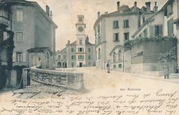 CPA (précurseur) -21935  -Suisse - Aubonne -Vue Du Centre-Envoi Gratuit - VD Vaud