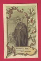 SANTINO MODERNO SAN VALERICO ABATE PATRONO DI TORINO CONORAZIONE - Devotion Images