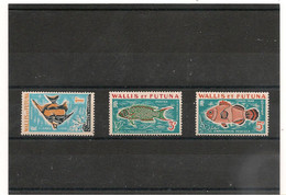 WALLIS ET FUTUNA  Année 1963 TAXE N° Y/T : 37/39** - Postage Due