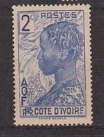 COTE D'IVOIRE             N° YVERT  :    110  NEUF SANS GOMME        ( S G     2 / 15) - Unused Stamps