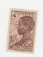 COTE D'IVOIRE             N° YVERT  :    111  NEUF SANS GOMME        ( S G     2 / 15) - Unused Stamps