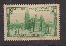 COTE D'IVOIRE             N° YVERT  :    117  NEUF SANS GOMME        ( S G     2 / 15) - Unused Stamps