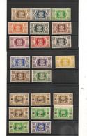 WALLIS ET FUTUNA  Année 1944/45  N° Y/T :133/146** Et 141/155** - Unused Stamps