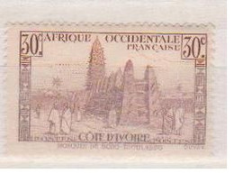 COTE D'IVOIRE             N° YVERT  :    171    NEUF SANS GOMME        ( S G     2 / 15) - Unused Stamps
