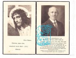 DP Hoofdonderwijzer Steenhuize (Herzele) & Koster Petrus Spitaels ° Everbeek Brakel 1864 † Nederbrakel X Van Der Meulen - Devotion Images