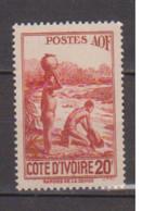 COTE D'IVOIRE             N° YVERT  :    174    NEUF SANS GOMME        ( S G     2 / 15) - Unused Stamps