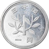 Monnaie, Japon, Akihito, Yen, 1991, TTB+, Aluminium, KM:95.2 - Japan