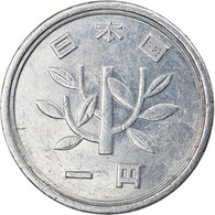 Monnaie, Japon, Akihito, Yen, 1990, TTB, Aluminium, KM:95.2 - Japan