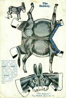 THE DONKEY PET ANIMALS TOY MODELS SERIES E 13 SEE RIGHT UNDER CORNER  ANE DONKEY EZEL ESEL MULES Donkeycollection - Games & Toys