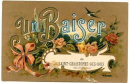 Saint-Christophe-des-Bois - Un Baiser - Voir Scan - Sonstige Gemeinden