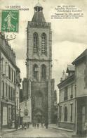 23  FELLETIN - EGLISE DU MOUSTIERS - CLOCHER DES DENTELLES ..... (ref A920) - Felletin