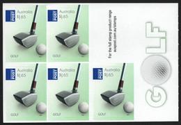 Australien 2011 - Mi-Nr. 3618 ** - MNH - Folienblatt - Golf - Ungebraucht
