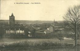 23  FELLETIN - VUE GENERALE (ref A922) - Felletin
