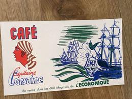 1 BUVARD CAFE CORSAIRE - Coffee & Tea