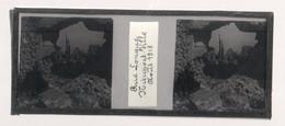 Plaque De Verre. Négatif. Belgique.Guerre 14/18. Nieuport Ville. Rue Longue Août 1918 - Diapositiva Su Vetro